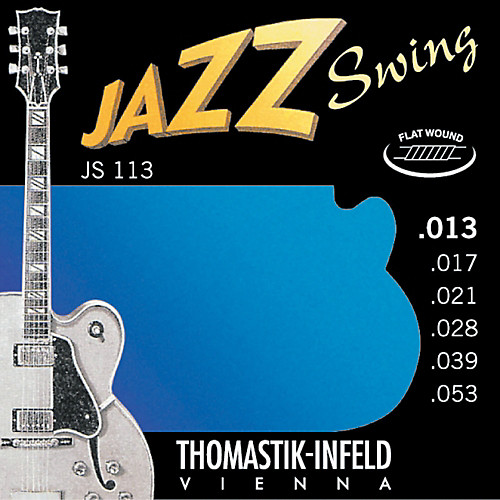 THOMASTIK JAZZ SWING flat wound | JS-111